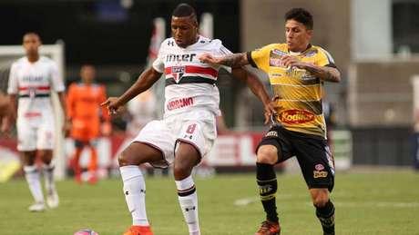 São Paulo e Novorizontino empataram sem gols no Morumbi (Foto: Luis Moura / WPP / Lancepress!)