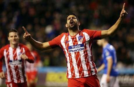 Atlético de Madrid confirma lesão e Diego Costa vira preocupação