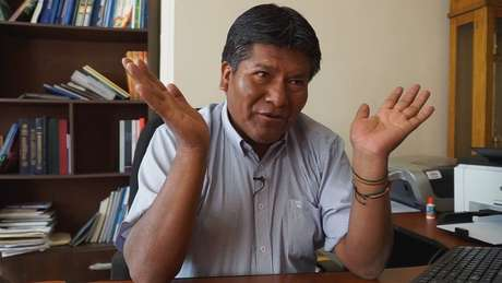 'O que é preciso deixar claro é que não são as leis que fazem a natureza, mas a natureza é quem faz as leis', diz o governador do Departamento de Oruro
