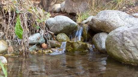 """A """"água crua"""" é retirada de fontes naturais"""