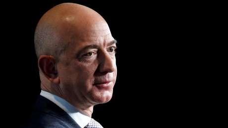 Jeff Bezos, da Amazon, foi o homem mais rico do mundo por alguns dias em 2017