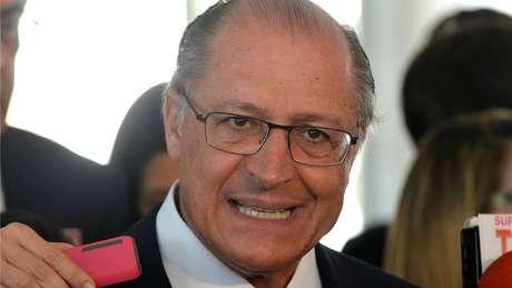 O governador de SP, Geraldo Alckmin, é um dos que pode se beneficiar da saída de Lula | foto: Wilson Dias/Agência Brasil