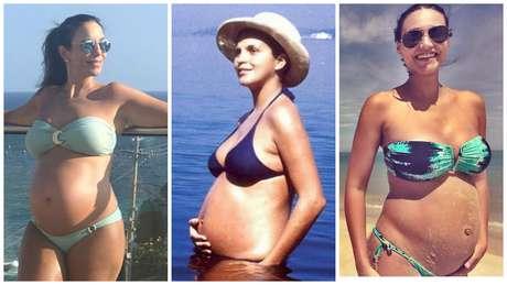 Ivete, Leila Diniz e Debora Nascimento (Fotos: Reprodução/Instagram)