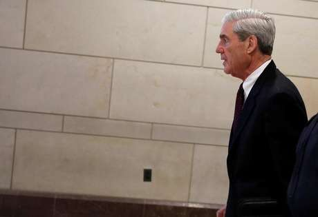 Robert Mueller deixa reunião em Washington  20/6/2017   REUTERS/Aaron P. Bernstein