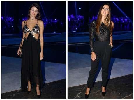 Isabeli Fontana e Giovanna Lancellotti (Fotos: Thiago Duran/AgNews)