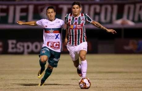 Fluminense x Portuguesa - Ayrton Lucas