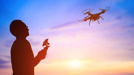 Drones viraram realidade e são muito utilizados hoje em dia