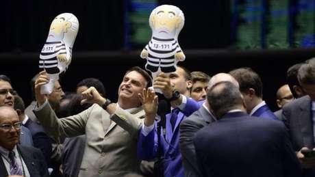 Jair Bolsonaro é o segundo colocado nas pesquisas de intenção de voto | Foto: Gustavo Lima/Câmara dos Deputados
