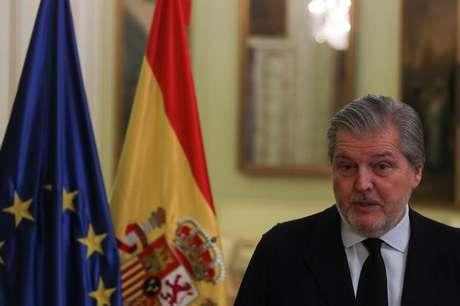 Porta-voz do governo espanhol, Íñigo Méndez de Vigo