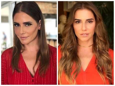 Antes e depois da Deborah Secco (Fotos: @dedesecco/Instagram/Reprodução)