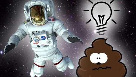 cocô no espaço