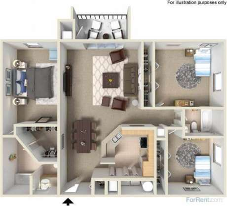 Casas Pequenas Plantas E Projetos Para Se Inspirar - Planos-de-casas-pequeas