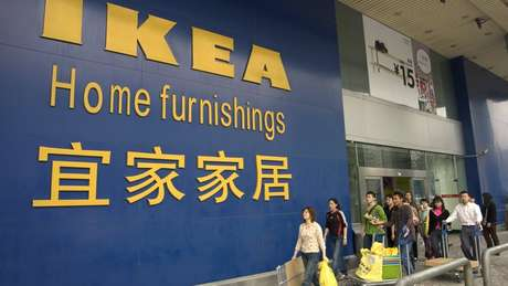 A Ikea expandiu para o mundo todo, inclusive a China. Em 2016, o grupo contabilizava mais de 400 lojas