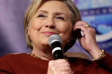 Ex-candidata à Presidência dos Estados Unidos Hillary Clinton durante evento, em Washington 02/11/2017  REUTERS/Joshua Roberts