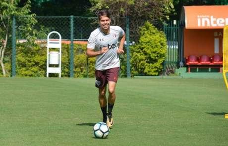 Araruna deve ganhar sua segunda oportunidade como titular nesta temporada (Érico Leonan/saopaulofc.net)