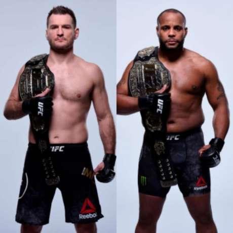 Stipe Miocic enfrenta Daniel Cormier na luta principal do UFC 226