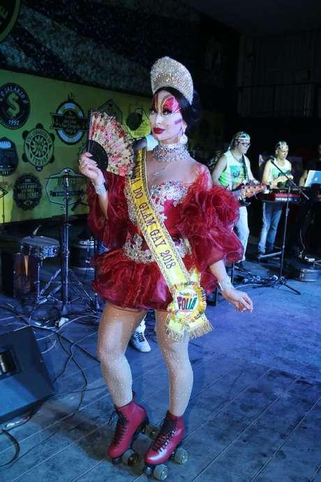 Sabrina Sato de Isabelita dos Patins (Fotos: Daniel Pinheiro/AgNews)
