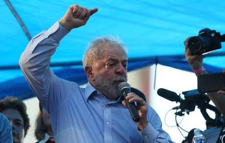 Lula faz discurso em Porto Alegre  23/1/2018   REUTERS/Paulo Whitaker