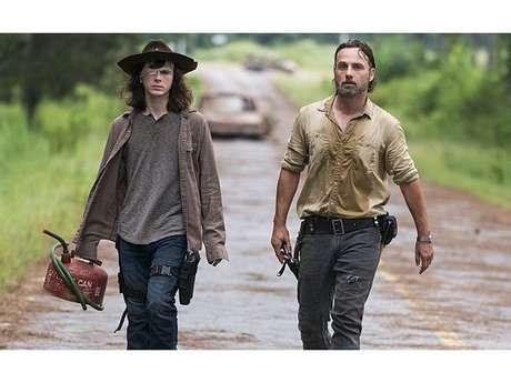 """De """"The Walking Dead"""", Andrew Lincoln prepara fãs para morte de Carl (Chandler Riggs)"""