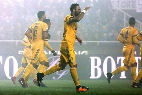 Gonzalo Higuaín marcou o único gol da partida