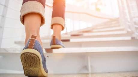 Ao caminhar de maneira mais intensa, o coração bate mais rápido, e isso é melhor para a saúde