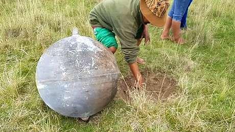 Agência espacial peruana registrou a queda de quatro objetos em Puno, no Peru.