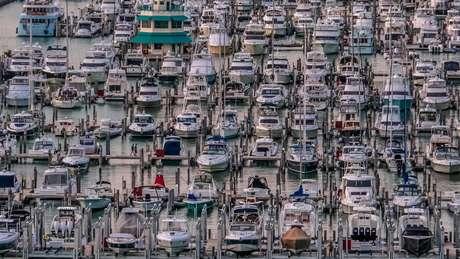 Imigrantes muitas vezes eram transportados de barco entre o Caribe e a Flórida