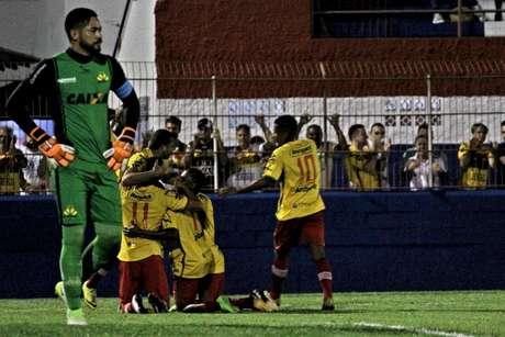 Brusque vence Criciúma, pela 5ª rodada do Campeonato Catarinense (Foto: Lucas Gabriel Cardoso/Brusque FC)
