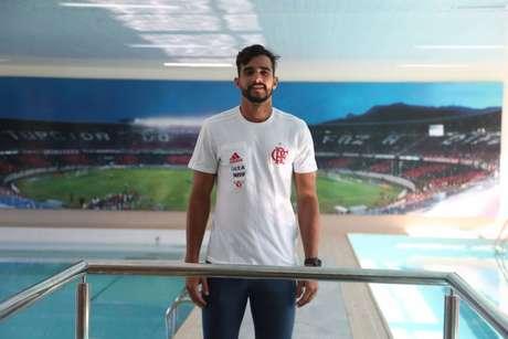 Dourado usará a camisa 19 do Flamengo (Gilvan de Souza/Flamengo)