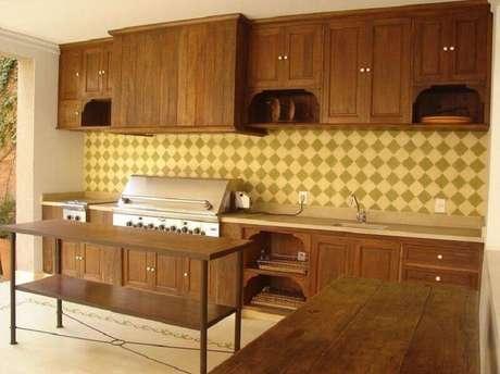 13. As cozinhas planejadas de maneira ficam lindas e muito aconchegantes