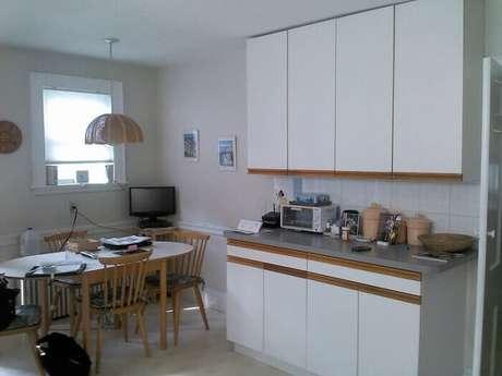 63. Decoração de cozinha simples e básica