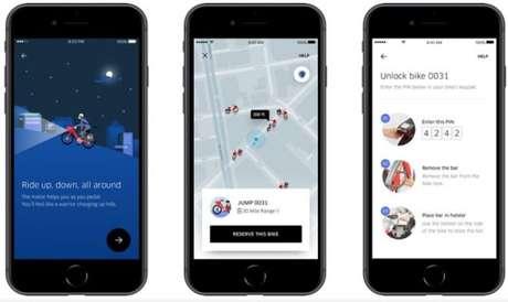 Uber começa a oferecer serviço de compartilhamento de bicicletas