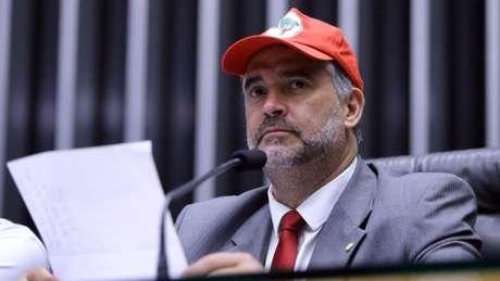 Para o novo líder da bancada do PT, Paulo Pimenta (RS), é impossível Lula não ser candidato | Foto: Antonio Augusto/Ag. Câmara