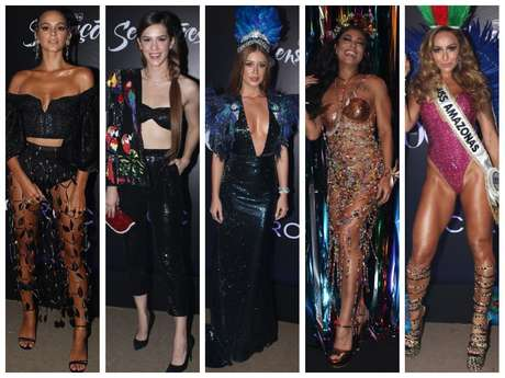 Looks das famosas no Baile da Vogue