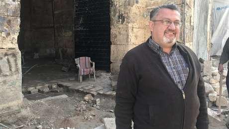 Historiador Alaa al-Sayed se dedica à restauração do portão histórico de Bab al-Nasr