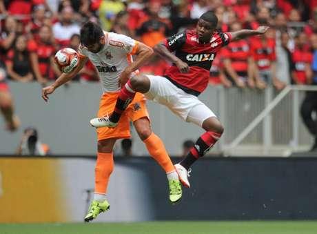 Fla venceu o Nova Iguaçu por 1 a 0 (Foto: Bernardo Gleizer/NIFC)