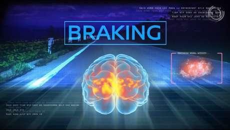 A Nissan vem acompanhando a atividade cerebral de motoristas durante diversos tipos de manobra | Foto: Nissan/Divulgação