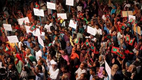 Estado de emergência nas Maldivas