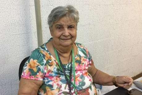 Dona Regininha atua na Imperatriz há 44 anos e há 30 é funcionária da escola