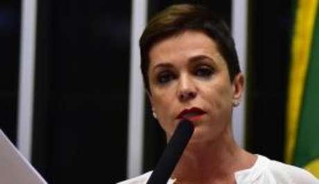 A deputada Cristiane Brasil, indicada para o cargo de ministra do Trabalho