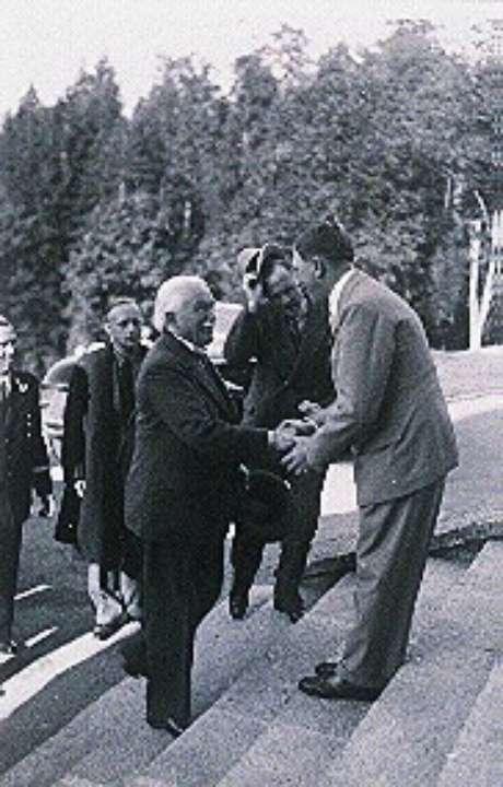 L. George visita Hitler