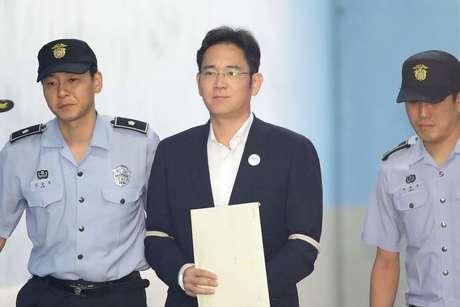 Lee Jae-yong em foto de agosto de 2017.