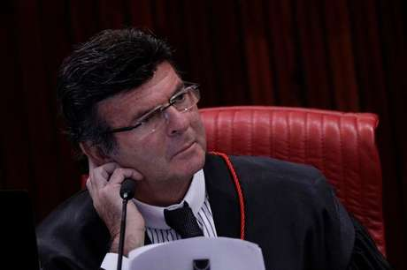 Ministro Luiz Fux durante sessão do Tribunal Superior Eleitoral 08/06/2017 REUTERS/Ueslei Marcelino