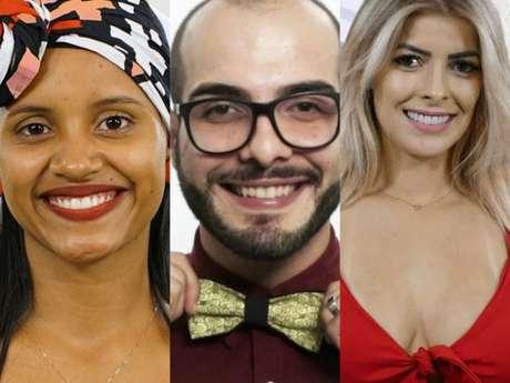 """No """"BBB18"""": emparedados Gleici, Mahmoud e Jaqueline arrumam confusão dentro da casa!"""