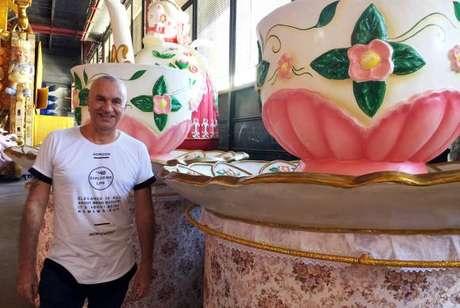 O carnavalesco Severo Luzardo está confiante no desfile que a União da Ilha vai fazer na segunda de carnaval