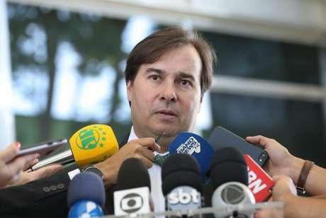 """Rodrigo Maia disse que """"o Brasil precisa da reforma da Previdência"""" e """"de um sistema previdenciário igual, do serviço público e do INSS"""""""