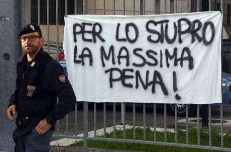 Itália condena à prisão menores que fizeram estupro coletivo