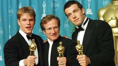 Robin Williams ganhou um Oscar por seu papel em 'Gênio Indomável'