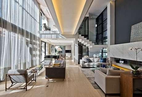 Casas modernas 50 modelos de decora o de tirar o f lego for Casa design moderno