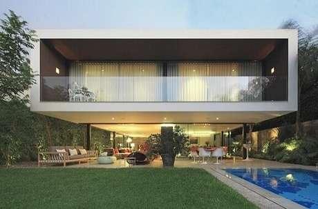Casas modernas 50 modelos de decora o de tirar o f lego for Casa moderna 64